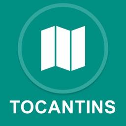 Tocantins, Brazil : Offline GPS Navigation