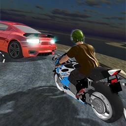 Police Bike Rider Crazy Chase