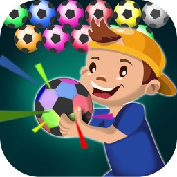 Football 2017 bubble shooter puzzle games