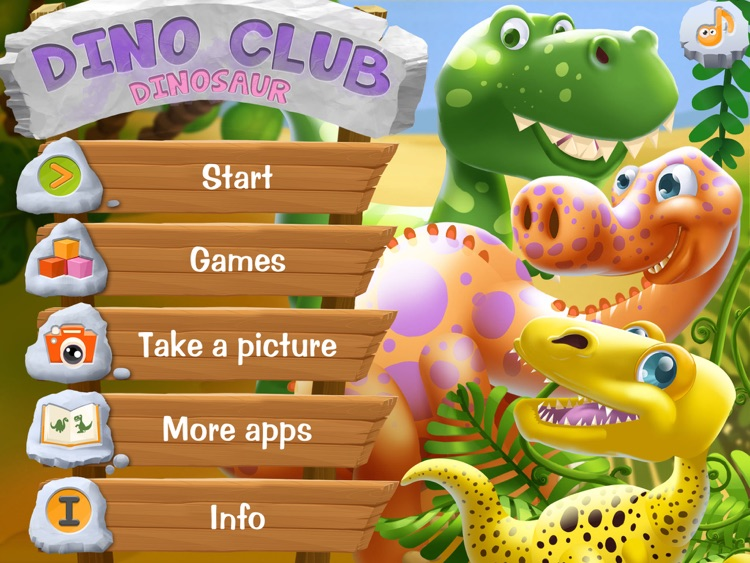 DinoClub. World of Dinosaurs HD screenshot-0