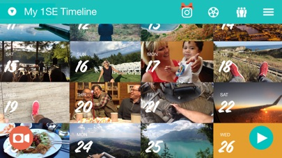 1 Second Everyday: Video Diary app image