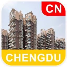 Chengdu, China Offline Map - PLACE STARS