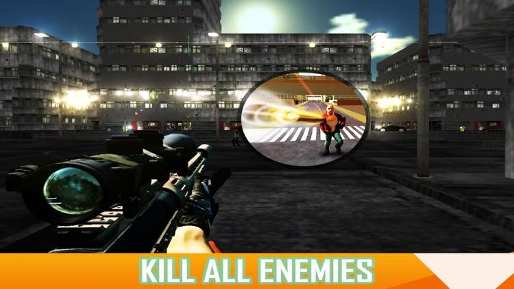 X Sniper - Dark City Shooter 3D screenshot-3