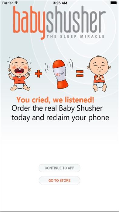 Baby Shusher review screenshots