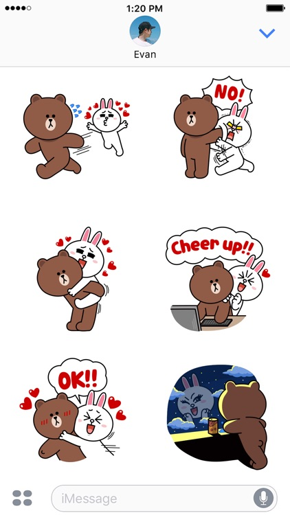 BROWN & CONY Sweet LOVE - LINE FRIENDS screenshot-4