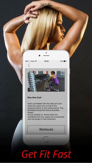上腕二頭筋の練習と腕ワークアウトトレーニングルーチンのおすすめ画像5