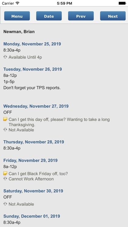ScheduleBase screenshot-3