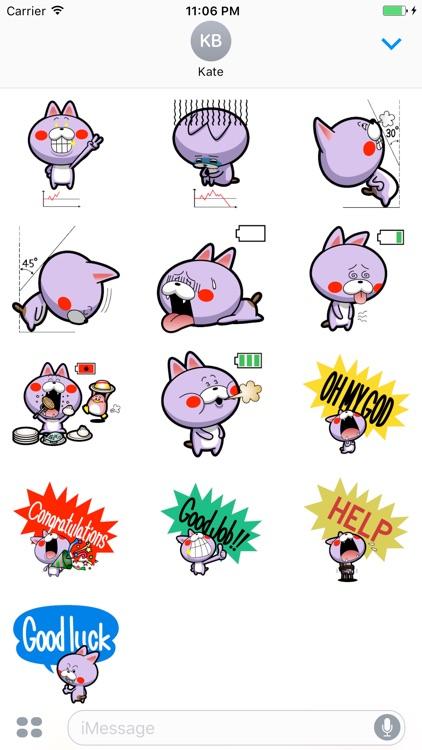 Billo Expression Stickers