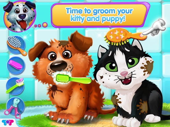 Скачать Kitty & Puppy: Love Story