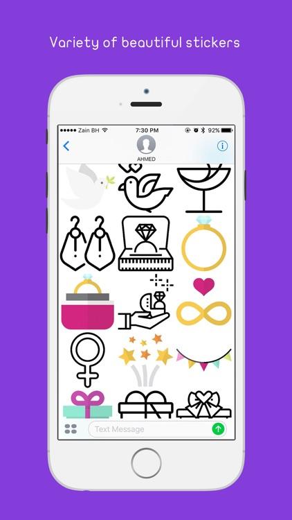 Zawaj - Wedding Stickers screenshot-3