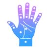 Remedial points - reflexology hand