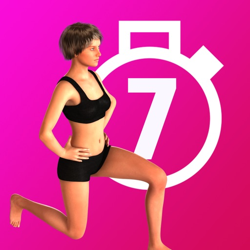 Women's Home Fitness -  7 Minute Daily Workout