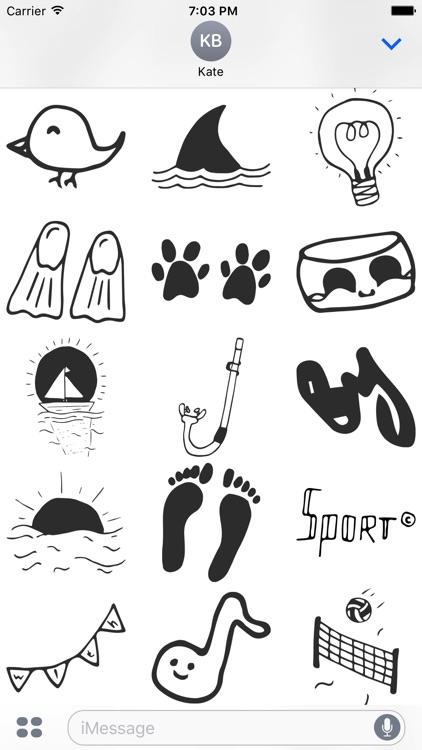 Summer Doodles screenshot-4