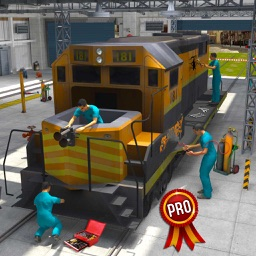 Real Train Mechanic Simulator PRO: Workshop Garage