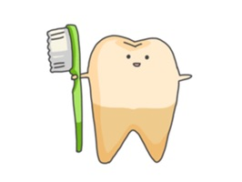 Baby Cute Tooth Stickers