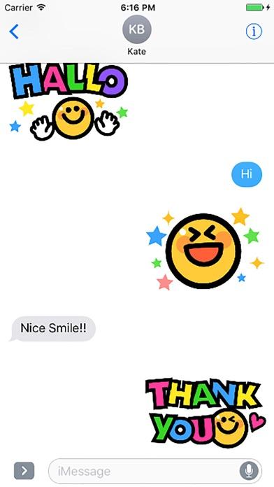 Smiley face Sticker 1のスクリーンショット1