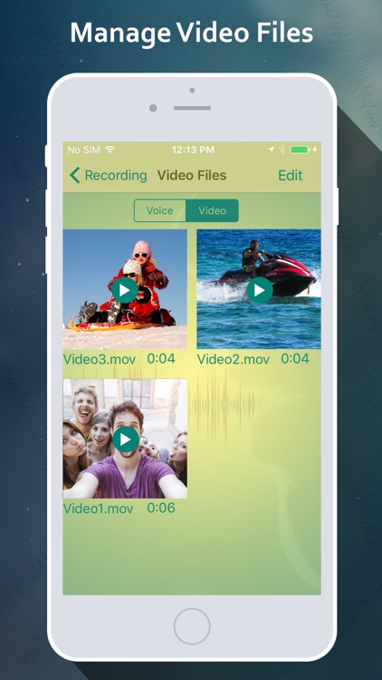 OnTouch Video Recorder - manage recorded files screenshot-2
