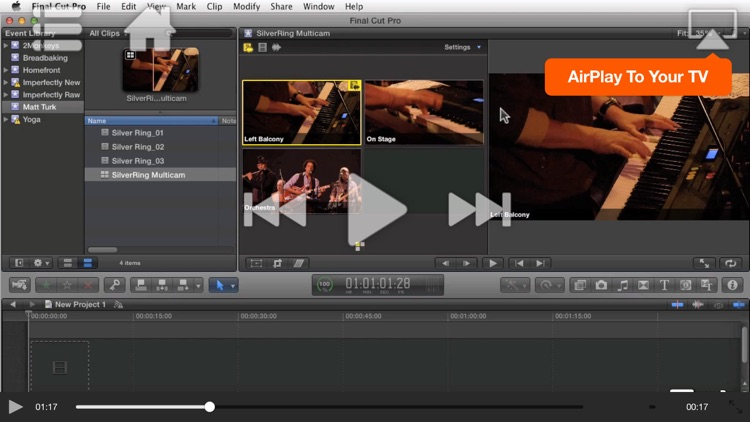 Course For Final Cut Pro X - Multicam Editing by Nonlinear ...