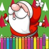 Merry Christmas Coloring for kid and Preschoolers