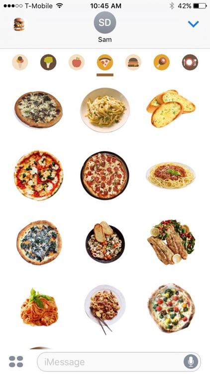 Food Porn Emoji By Fabio Viviani