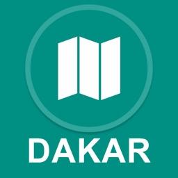Dakar, Senegal : Offline GPS Navigation