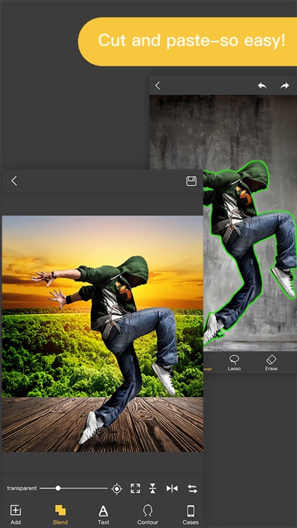 Pro KnockOut-Photo Editor+ Cut Out& Mix Background app image