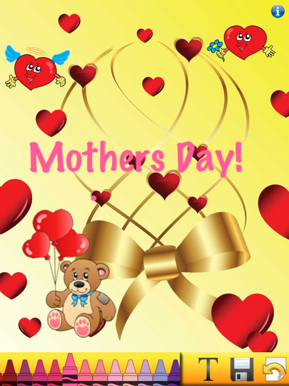 Mothers Day Card Creator screenshot