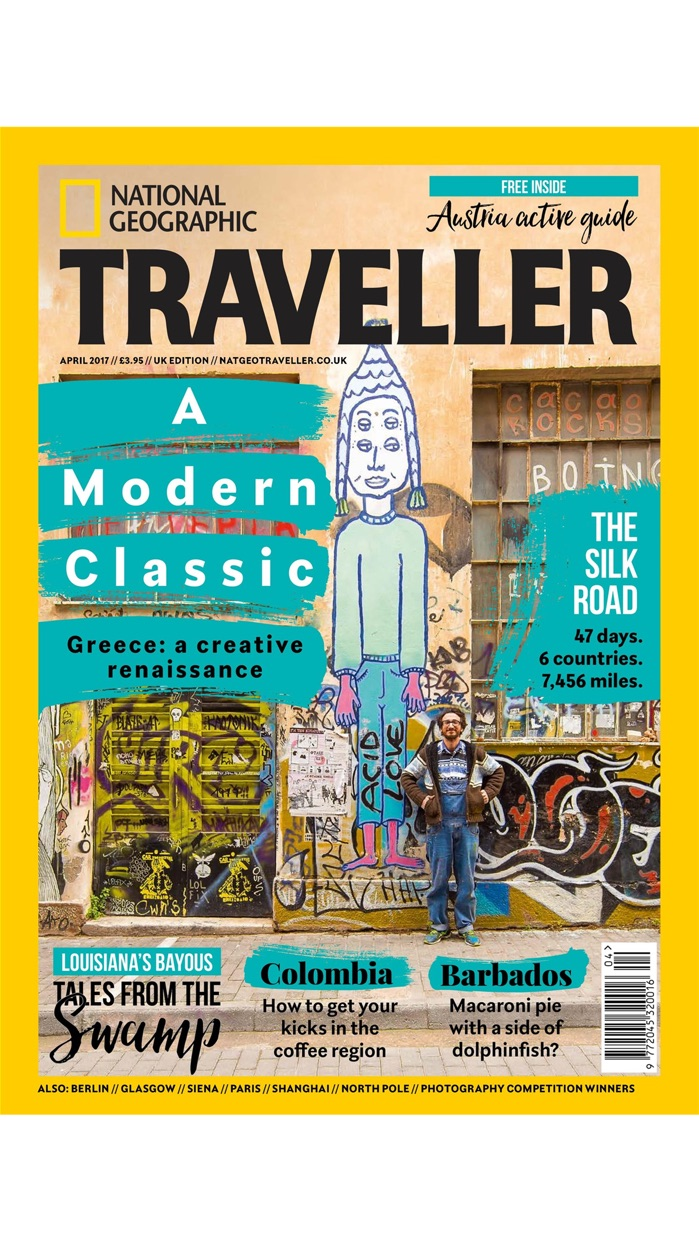 National Geographic Traveller (UK) Screenshot