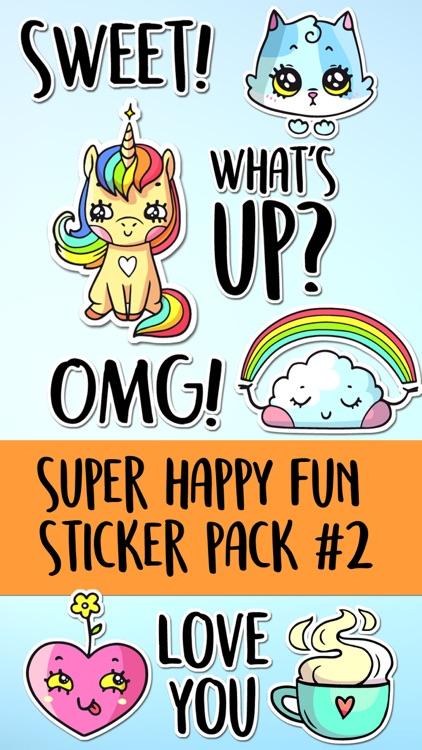 Super Happy Fun Sticker Pack 2
