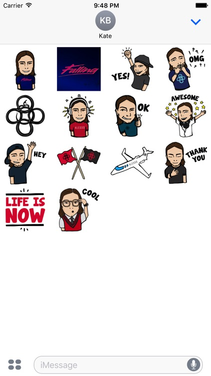 Alesso Sticker Pack