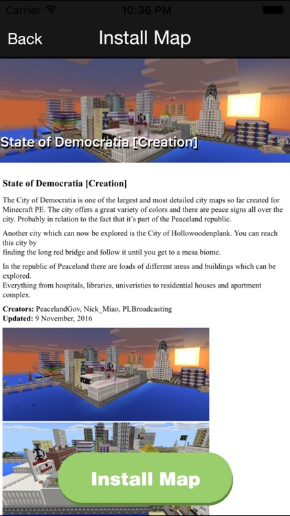FREE Mansion & City Maps For Minecraft PE MCPE screenshot-3