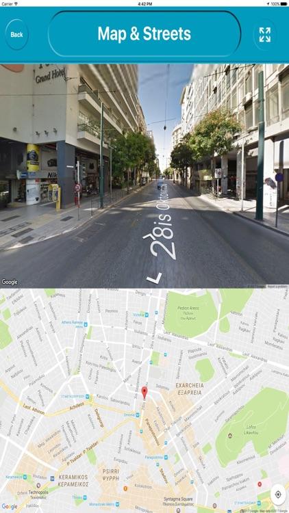 Athens Greece Offline E Maps screenshot-3