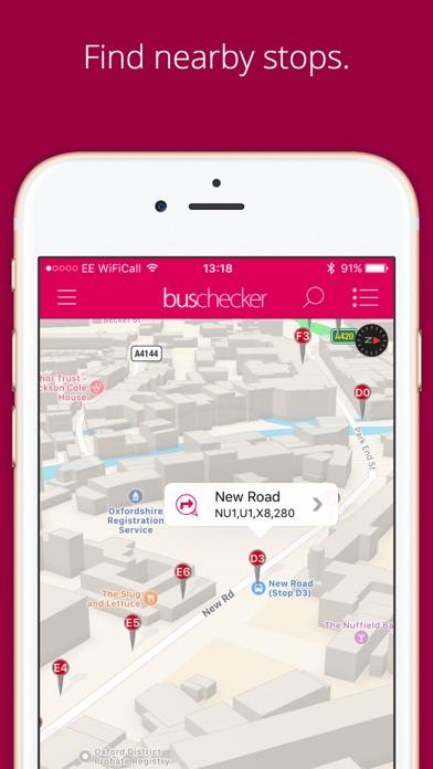 UK Bus Checker Premium screenshot one