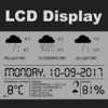 LCD Wetter Display
