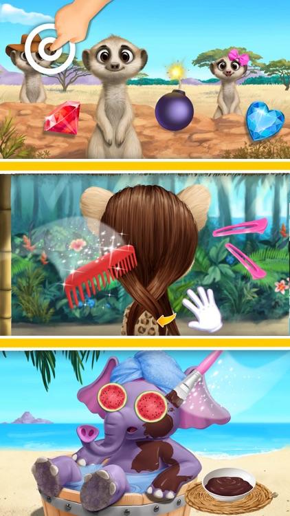 Jungle Animal Hair Salon 2 screenshot-4