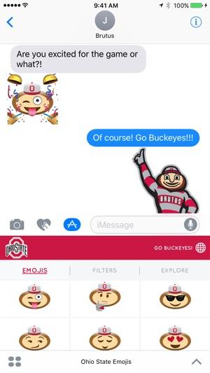 Ohio State Emojis on the App Store