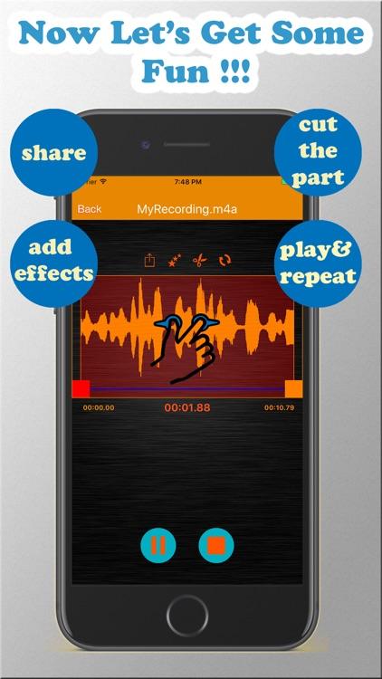 LF Recorder - HD Voice Record, play & edit audio