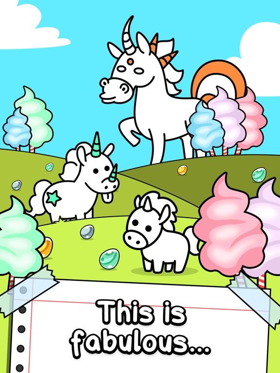 Unicorn Evolution | Игра кликера единорога на iPad