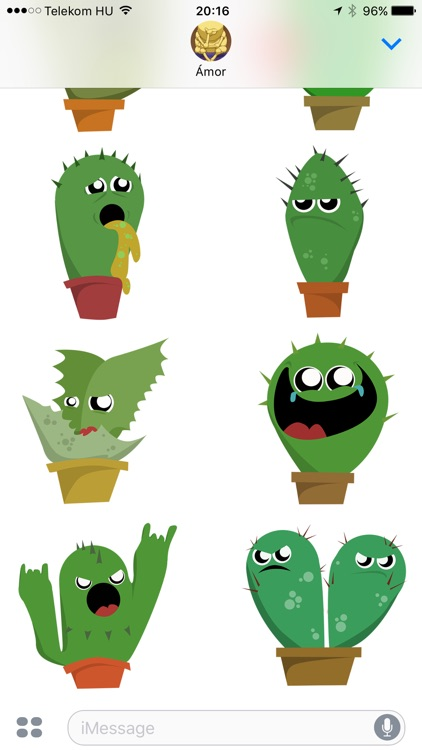 Lively Cactus Party the Summer Sticker Pack screenshot-4