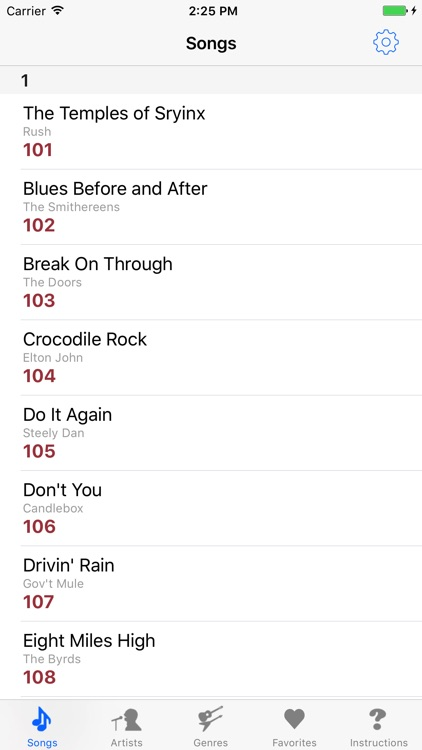 The Pocket RockIt Roller Coaster Setlist screenshot-1