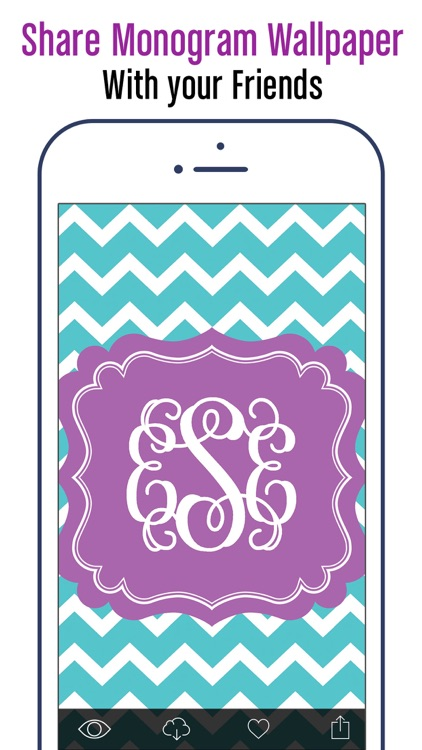 Monogram Wallpapers & Pattern
