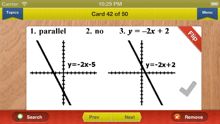 GED Math Prep Flashcards Exambusters