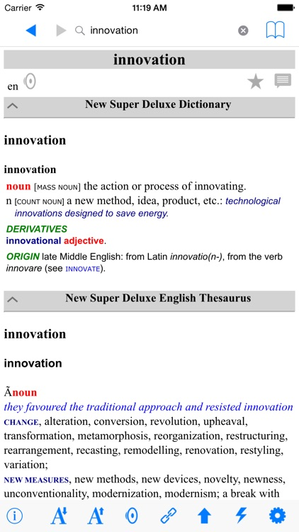 Advanced Deluxe Dictionaries And Thesaurus Pro