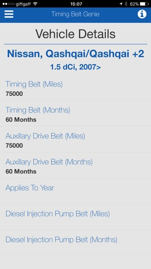 Timing-Belt Genie on the App Store