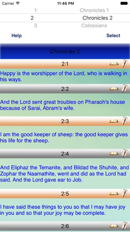 Basic English Talking Bible Study screenshot-0