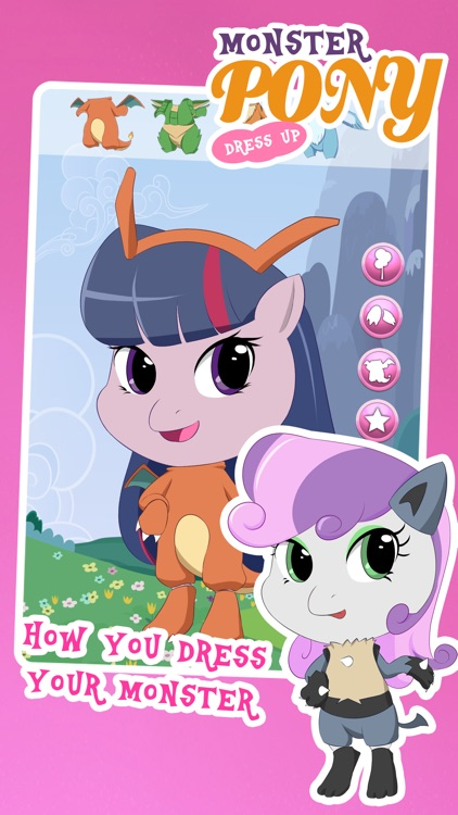 Fun Pony Avatar Dress Up Games for Girls and Teens