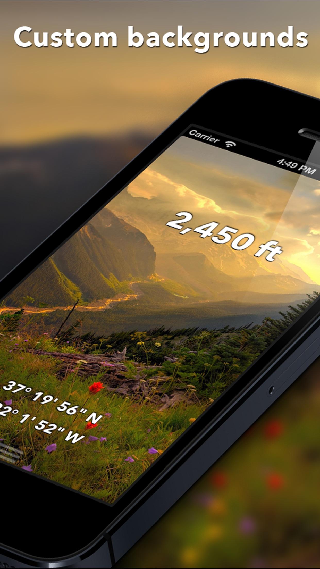 Travel Altimeter Lite Screenshot