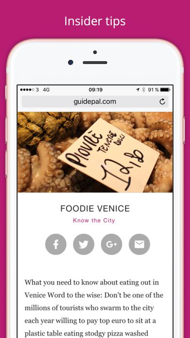 Venice City Travel Guide - GuidePal screenshot three