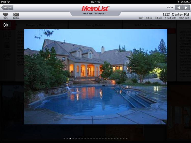 MLS PRO Real Estate for iPad screenshot-3