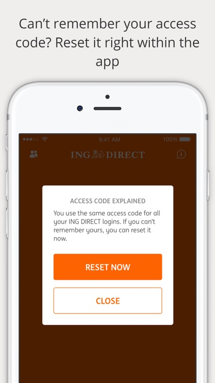 ING DIRECT Australia Banking screenshot-0